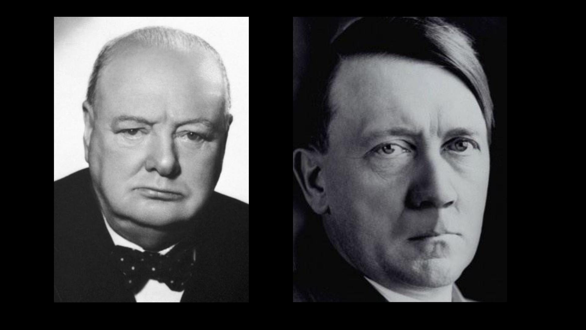 Looking for Winston Churchill & Adolph Hitler Models for Educational Video